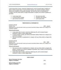 guerrilla resume format