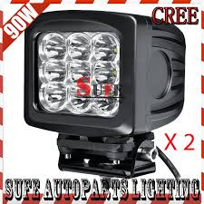 led driving lights for trucks 90w cree led working light offroad led driving light truck tractor