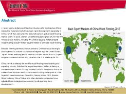china wood flooring industry report 2013 2016
