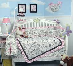 Nursery In A Bag Crib Bedding Set Soho Designs Bedding Sets Soho Princess Hailey Toile Crib Nursery