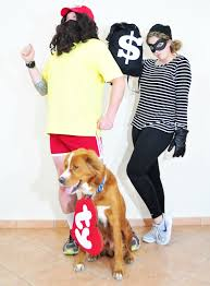 halloween costume robber little sloth forrest gump bank robber and a beanie baby