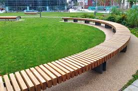clifton hardwood bench woodscape street furniture zitelementen