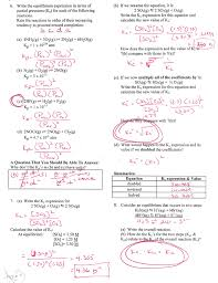 Quadratic Word Problems Worksheet With Answers Ap Chemistry Page