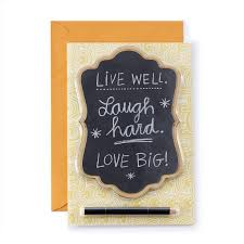amazon com hallmark signature collection birthday card live