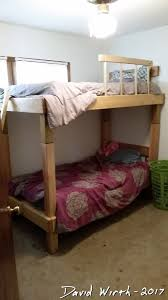 Build Bunk Beds Build Bunkbed From Bed Frames