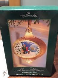 hallmark illuminations for santa ornament plus