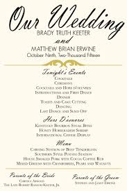 gold wedding programs ivory and gold wedding program poster menu schedule of events