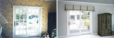 Patio Door Valance Patio Door Valance Marvelous Fabric Valance And Curtains