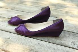 wedding shoes for wide purple wedding shoes wedge low heel 1 inch wedge shoes wide