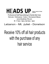 hair salon lebanon mt juliet donelson