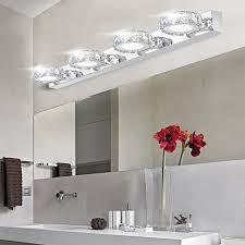 Crystal Bathroom Mirror Aliexpress Buy Modern K9 Crystal Led Bathroom Make Up Mirror