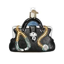 world doctor s bag glass blown ornament