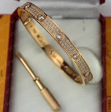 love bracelet pink gold cartier images Love bracelet diamond paved pink gold diamonds n6036917 jpg