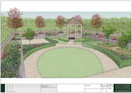 Garden Design Ideas For Large Gardens Large Rural Garden Design Owen Chubb Landscapers Tierra Este