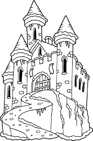 Innovative Castle Coloring Page 14 4385 Coloring Pages Castles
