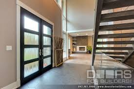Interior Doors Privacy Glass Custom Modern Wood Double Door Insulated Privacy Glass Interior