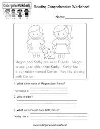 1st Grade Reading Comprehension Worksheets Ideas About Worksheet For Kindergarten Reading Easy Worksheet Ideas
