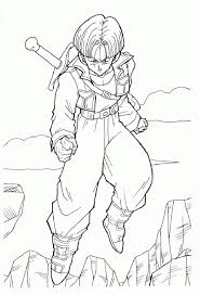 free dragon ball coloring pages 49220