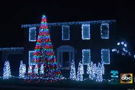 Christmas Lights House by Call Me Maybe U0027 Christmas Light Show Maryland Man Syncs 10 000