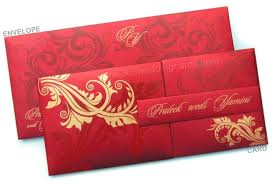 wedding card w 1109