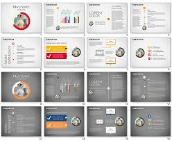 resume examples presentation powerpoint resume template free