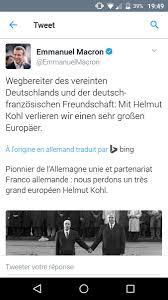 Plan Image Emmanuel Macron On Twitter