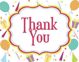 thank you messages for birthday thank you notes for a