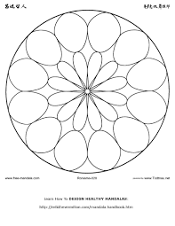 free printable mandala coloring pages free mandalas to color and
