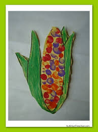 thanksgiving project for kids indian corn art project maize pattern nuttin u0027 but preschool