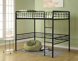 Cheap Loft Bed Frame Dhp Metal Loft Bed With Ladder Space Saving
