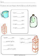Gallon Worksheet Math Worksheets Printabels Addition Subtraction Multiplication