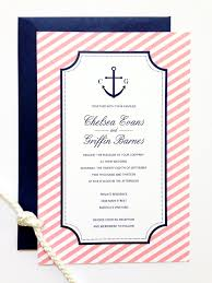 new preppy nautical wedding collection sweet peach paperie