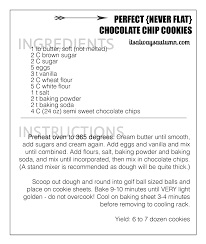 the perfect never flat chocolate chip cookie recipe it u0027s