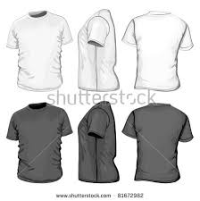 t shirt design template vector mens tshirt design template front stock vector 81672982