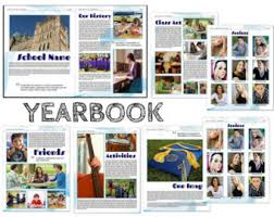 yearbook etsy