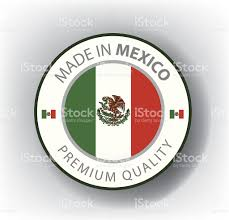 made in mexico seal mexican flag stock vector art 481669133 istock