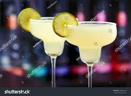 margarita cocktail margarita cocktail shot on bar counter stock photo 264604253