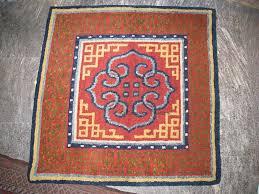 tappeti tibetani tappeto in raffigurante mandala con svastiche tibet