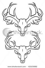 two deer skull tattoo designs tattoos book