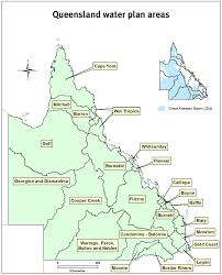 Map Of Queensland Catchment Areas Department Of Natural Resources And Mines