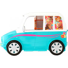 barbie cars barbie ultimate puppy mobile walmart com