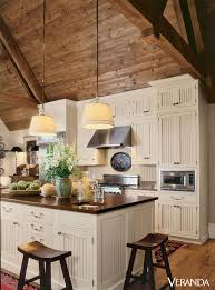 cabin kitchen design photo of well amazing log house kitchens you