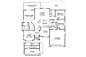Mediterranean House Floor Plan And Design by Mediterranean House Plans Pereza 11 075 Associated Designs