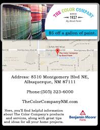 promotionals the color company by bond paintthe color company by