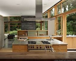 modern open floor house plans mid century modern home with a nature backdrop open floor modern