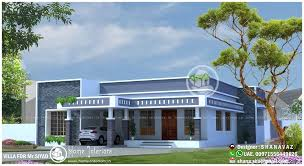 home designs 1990 sq ft single floor 4 bhk modern home designs home interiors