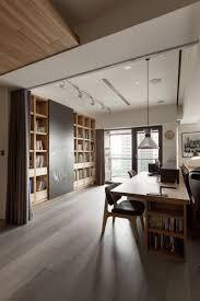 home office design books partidesign creates spacious open concept apartment apartments