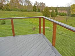 decks deck cable railing for perfect safety and style
