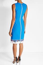emilio pucci clutches emilio pucci virgin wool dress with printed