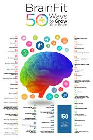 tips for a healthy brain brainfit 50 ways to grow your brain bby